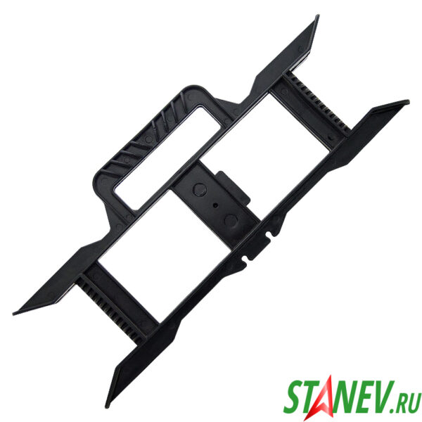 Каркас для удлинителей на рамке рогатка черная -50