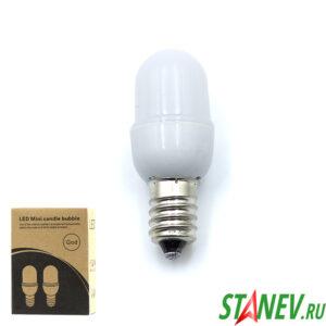 Лампа LED для бытовой техники светодиодная Е14 1Вт 2-100
