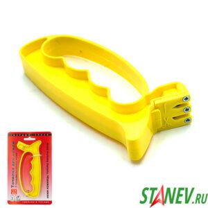 Ножеточка точилка для заточки ножей и ножниц ТВЕРДЫЙ СПЛАВ 10-80