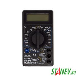 Мультиметр цифровой DT 830В STANdart luxe 1-100