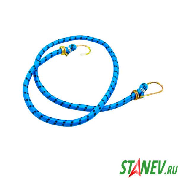 Шнур крепежный 1 м резиновый со стальными крюками 20-200