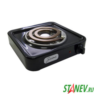 Настольная плитка 1 конфорочная электрическая Злата-114-Т ЭТП1 1.0 кВт 220В конфорка спираль