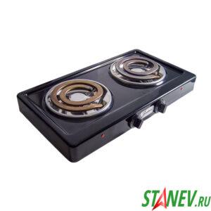 Настольная плитка 2 конфорочная электрическая Злата-214-Т ЭТП2 2.0кВт 220В конфорка спираль