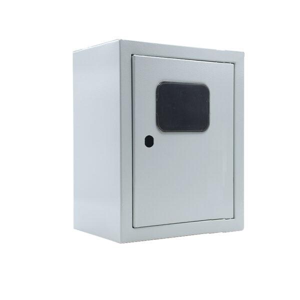 Электрический щит металлический 00 ГО герметичный с окном 290х220х155