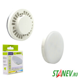 Лампа светодиодная tablet GX53 12Вт 4500К естественный белый цвет General 1-100