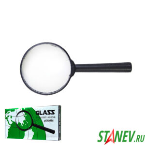 Ручная лупа увеличительная Glass 3Х D75 мм 10-300