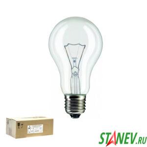 Лампа накаливания Е27 60 Вт ЛОН Калашников -100