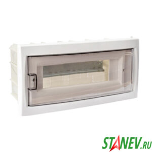 BYLECTRICA Бокс распределительный КНС-12Д скрытой установки встраиваемый на 12 автоматов IP20 1-12