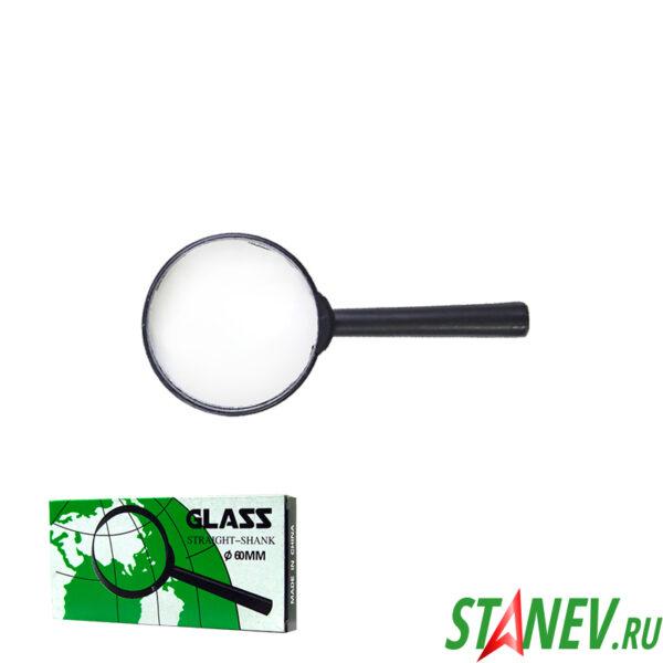 Ручная лупа увеличительная Glass 3Х D60мм 10-400