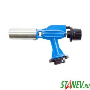 Горелка газовая с пьезоподжигом ГПМ-900 синяя в металле керамическая Корея 10-100