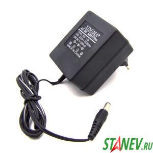 Блок питания XM-102  500мА 9V  для радиотелефонов XINGMA 1-100