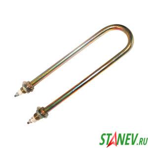 Тэн для нагрева воды 1.5 кВт оцинкованная сталь D10 U образный электрический 1-50