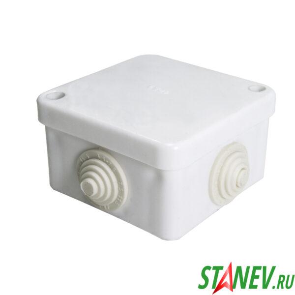 ОП Коробка распаечная КЭМ 3-10-4 малая 75х75х40мм ЭЛЕКТ 1-170