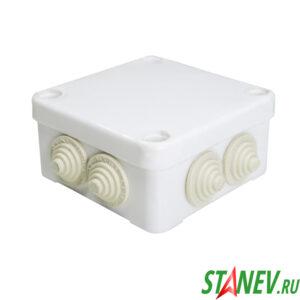 ОП Коробка распаечная КЭМ 5-10-7 средняя 95х95х45мм ЭЛЕКТ 1-100