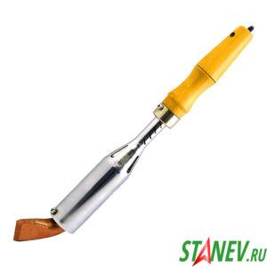 Паяльник нихромовый 300 Вт 220В ЭПСН с деревянной ручкой TLW 1-25