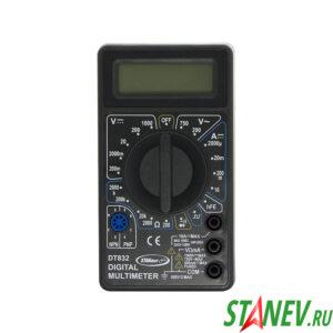 Мультиметр цифровой DT 832В STANdart luxe 1-100