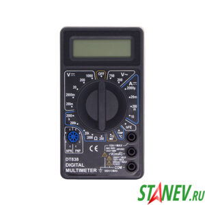 Мультиметр цифровой DT 838В STANdart luxe 1-100