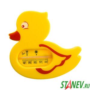 Термометр детский водный бытовой ТБВ-3 Уточка 1-100