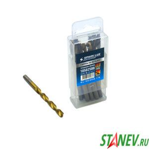 SPARK LUX Сверло по металлу 6 мм в боксе спиральное нитрид титана сталь HSS-TIN 10-100