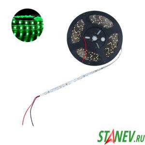 Лента светодиодная SMD 3528 5 метров 300 LED зеленый свет 19.5W 12V 1-50