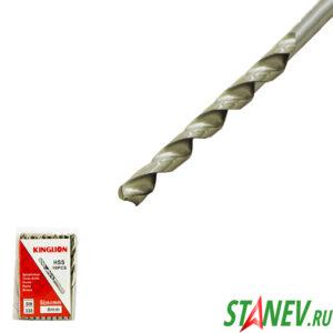 Сверло по металлу спиральное 8 мм DIN 338 сталь HSS 10-100
