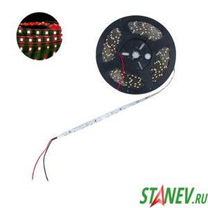 Лента светодиодная SMD 3528 5 метров 300 LED красный свет 19.5W 12V 1-50