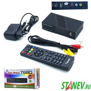 SELENGA T68D Приставка для цифрового телевидения DVB T2 DVB T 1-1