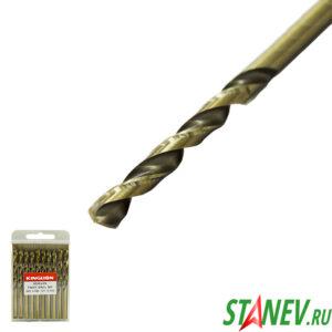 Сверло по металлу кобальт 6.5 мм спиральное COBALT сталь HSS-CO 5 10-100