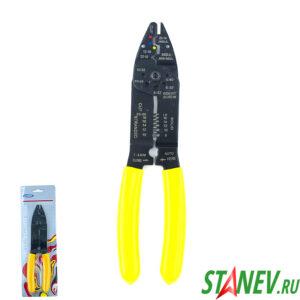 Инструмент YF-054 Обжимные и зачистные Плоскогубцы наконечники 22-10мм кабель 0,5-10мм 10-80