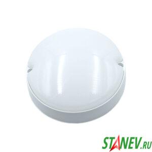 Светодиодный светильник RSV IP65 круг 12W пылевлагозащищенный 1-40