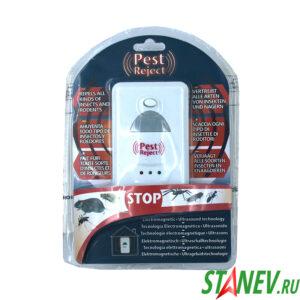Отпугиватель ультразвуковой от грызунов и насекомых в розетку PEST Reject 220В S775 1-100
