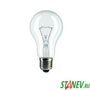 Лампа накаливания Е27 150 Вт ЛОН Калашников -100