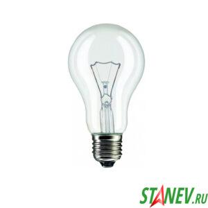 Лампа накаливания Е27 200 Вт ЛОН Калашников -100