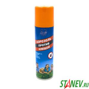Аэрозоль против клещей и других насекомых 150 мл Сивка Бурка 6-24