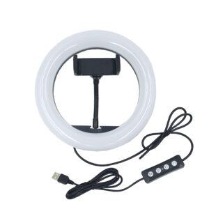 Кольцевая светодиодная лампа для съемки диаметр 20см 1-10