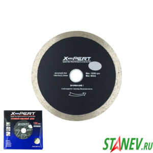 Отрезной алмазный диск по керамограниту 150 мм мокрый рез X-PERT 1-10