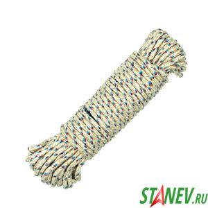 Веревка бельевая шнур вязаный 20м 1-120