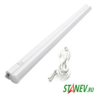 Светодиодный Т5 линейный светильник 18W 4000K  120см х 2см х3см GENERAL 1-10