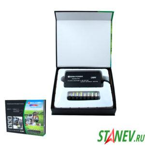Блок питания универсальный для Ноутбуков MR507 12V-24V 150W + 8 Насадок Авто + Сеть 1-10