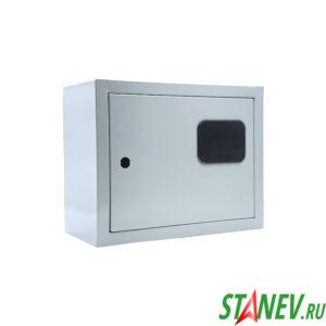 Электрический щит металлический 02 ГО герметичный с окном 250х300х155
