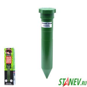 Ультразвуковой отпугиватель кротов пластик R20 REXANT 1-36