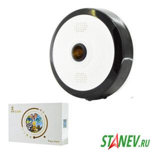Wi-Fi Камера наблюдения беспроводная Рыбий Глаз 360 1-50