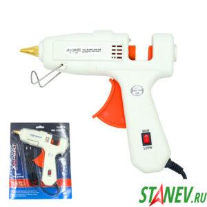 Клеевой пистолет электрический 80-120Вт регулируемый 11мм 110-220V X-PERT 1-40