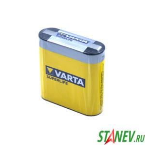 Батарейки VARTA SuperLife 1 спайка 3R12 цинк карбон 1-44