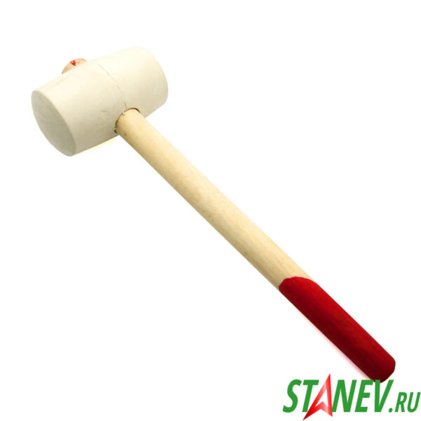 Киянка резиновая деревянная ручка 750 гр 1-60