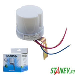 Фотореле датчик освещенности 20А IP 44 смарт 1-100