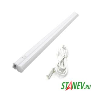 Светодиодный Т5 линейный светильник 9W 4000K  60см х 2см х3см GENERAL 1-10