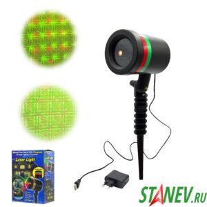 Лазерный проектор Мерцающие Точки 500м большой 1-30