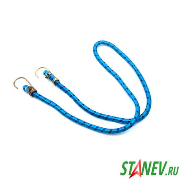 Шнур крепежный 1.5 м резиновый со стальными крюками 20-200