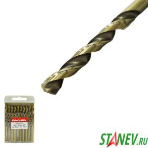 Сверло по металлу кобальт 7.5 мм спиральное COBALT сталь HSS-CO 5 10-100